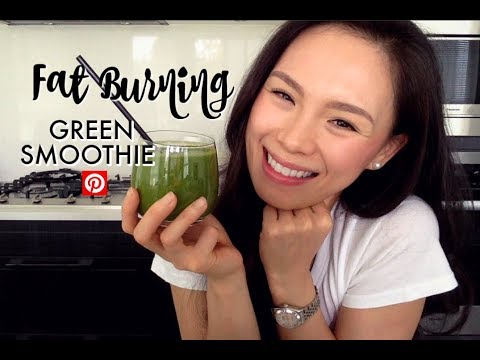FAT BURNING Green Smoothie | Pinterest Recipe | Boost Metabolism