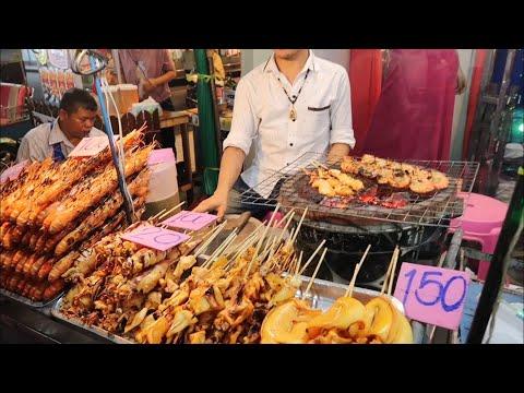 THAI STREET FOOD | Thailand's Pratunam Night Market
