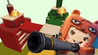 Destruye La Torre Enemiga En Mini World !! - Juego De Equipos