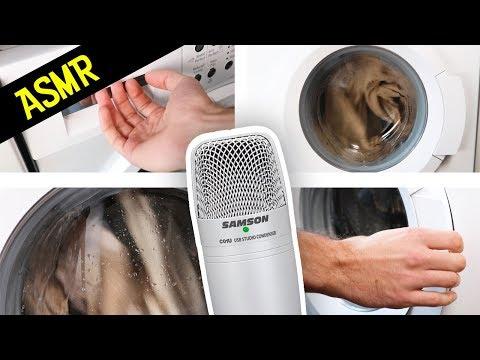 ASMR Washing Machine - Relaxing sounds great for Sleeping - ASMR Kitchen