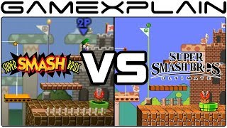 Super Smash Bros. Ultimate Graphics Comparison: Switch vs. N64 (ALL RETURNING STAGES!)