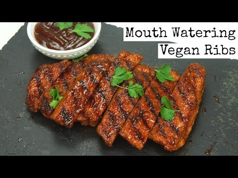 Mouth Watering Vegan Ribs