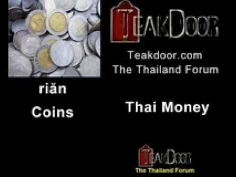 Learn Thai Thai Money