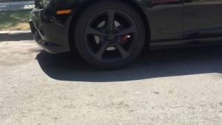 Electric Cut Off Exhaust On A 2015 Chevy Camaro rs