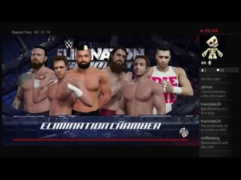WWE 2K16: Live on Twitch.TV (12/2/15)