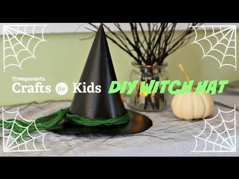 DIY Witch Hat | Halloween Crafts for Kids | PBS Parents