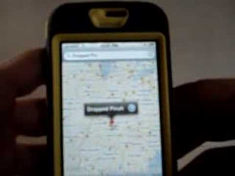 Apple iPhone Google Maps Dropped Pins Removal