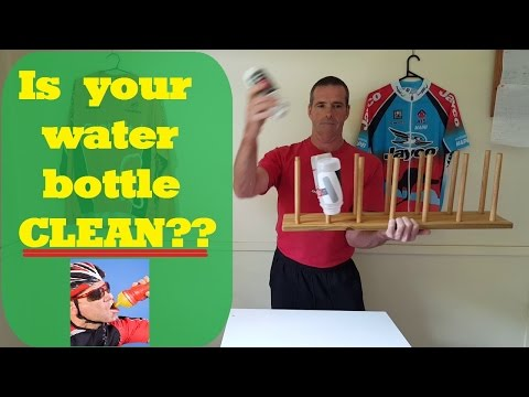 Is your water bottle clean?