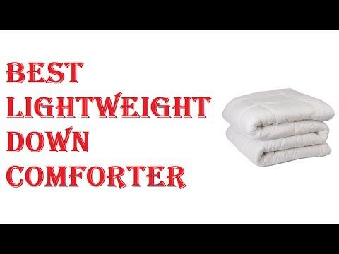 Best Lightweight Down Comforter 2018