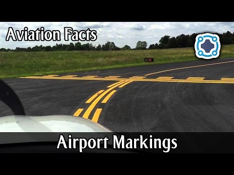 Airport Markings And Signs - Aviation Facts