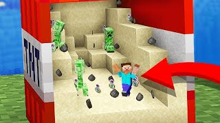 Minecraft but you can go Inside Blocks