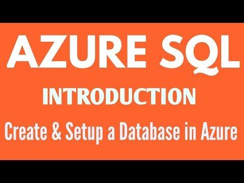Learn Azure SQL - Create Azure SQL Database