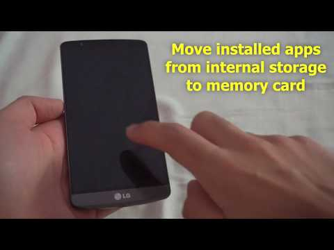 How to Move Android Apps to SD Card (LG G3)