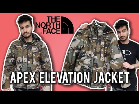 The North Face Apex Elevation Camo Jacket Review + On Body | Better Than Canada Goose???