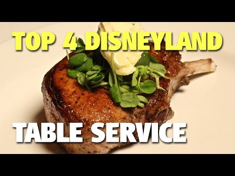 Top 4 Disneyland Table Service Restaurants | Celebrating Disneyland