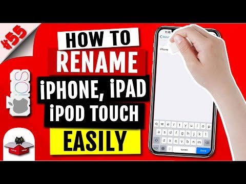 How To Change Name or Rename iPhone/iPad/iPod Touch | iOS 12/11/10 | iPhone X/Xs/Xs Max/Xr/8/7/6/5