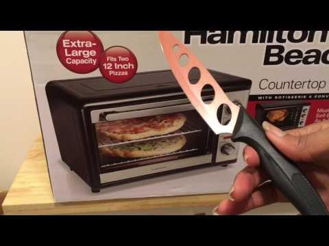 Hamilton Beach Countertop Cenvection & Rotisserie Oven