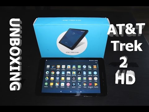 AT&T ZTE Trek 2 HD Tablet (Unboxing)