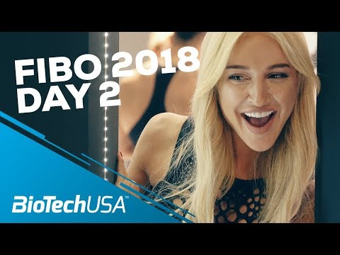 Fibo 2018 - Day 2 - Athletes -Team BioTechUSA