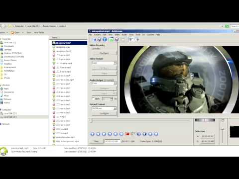 Avidemux Tutorial: Combining Video and Audio without re-encoding