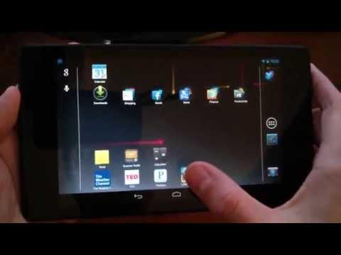 Nexus 7 2nd Gen Accelerometer Sensor Review/Test