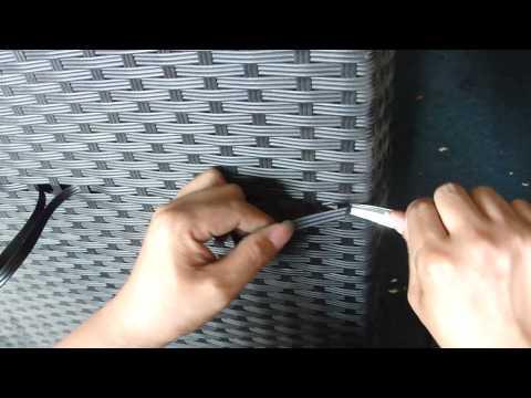 rattan repair Video