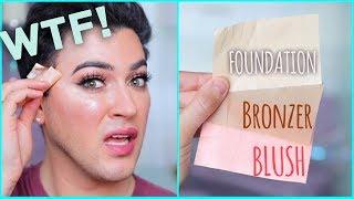 testing paper makeup wtf