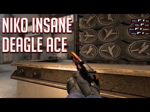 Niko's Incredible Deagle Ace!