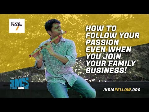 How to follow your passion, even in family business