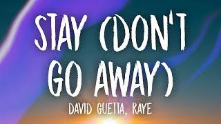David Guetta - Stay (Don