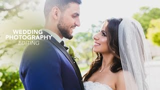 How I Edit my Wedding Photos in Lightroom