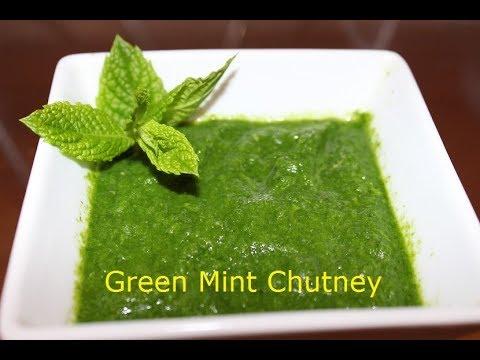 पुदिन्याची चटणी | Pudina Chutney| Green Mint Chutney by Vishakha's Kitchen Marathi