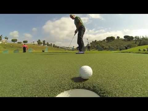 Huxley Golf putting green - It's all about the roll