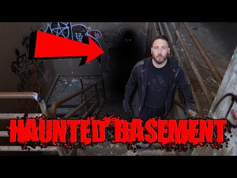 (UNCUT) HAUNTED BASEMENT IN MILITARY HOSPITAL - GHOSTLY SHADOW FIGURE!