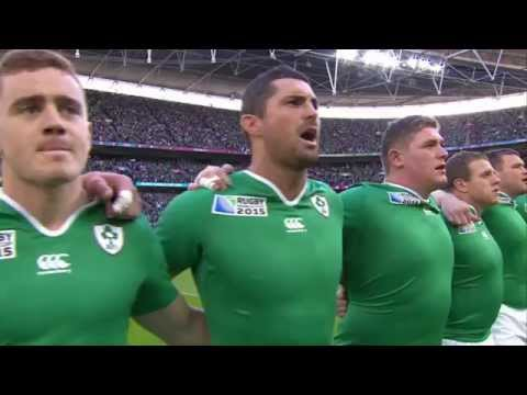RWC 2015 Anthems - Ireland vs Romania [Pool D]
