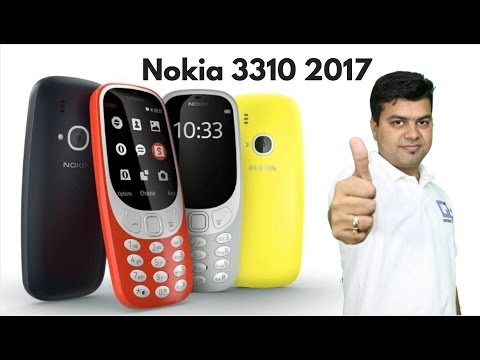 New Nokia 3310 First Hands on India, Hindi, Camera Test