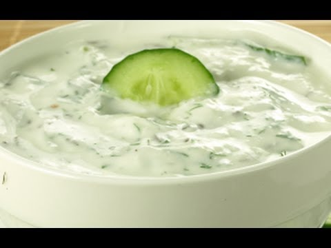 How to Make Cucumber Raita (Indian Cuisine Video)