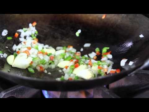Recipe for Fried Rice using an Heirloom Ominio Fragrant Variety