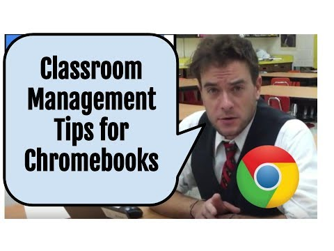 Classroom Management Tips for Chromebooks