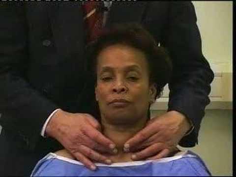 Thyroid 6 - Palpation - Trachea