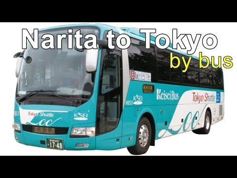Narita Airport to Tokyo, Taking the bus to Tokyo.