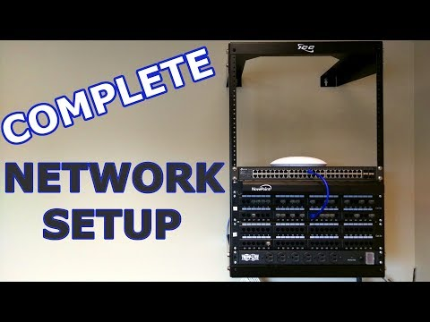 Sweet Network Setup, and Toning and Identifying Patch Panels
