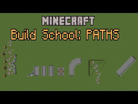 Minecraft Build School - Paths!