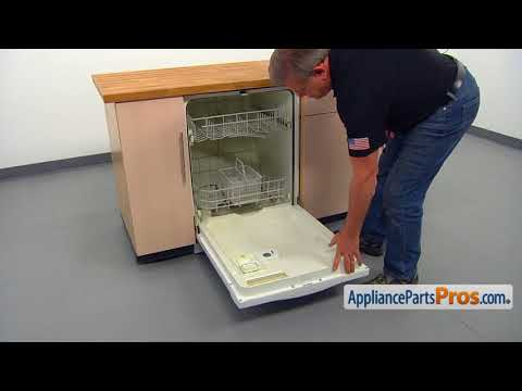 Dishwasher Rinse Aid Cap (Part #WD12X10206) - How To Replace