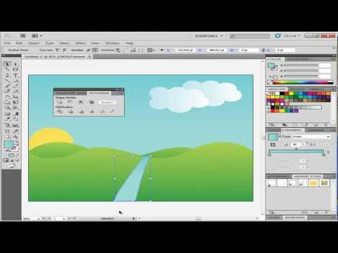 How to Create Landscape in Adobe Illustrator