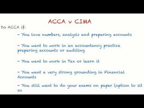 ACCA vs CIMA