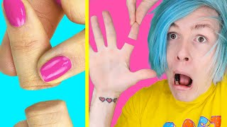 Trying 20 DIY MAGIC TRICKS AND LIFE HACKS YOU CAN DO by TroomTroom