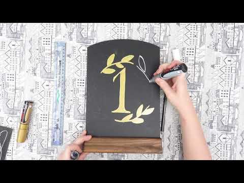 UNIBALL Chalk Marker Board Design