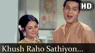 Khush Raho Sathiyon - Zindagi Zindagi Song -  Deb Mukherjee - Farida Jalal - Filmigaane