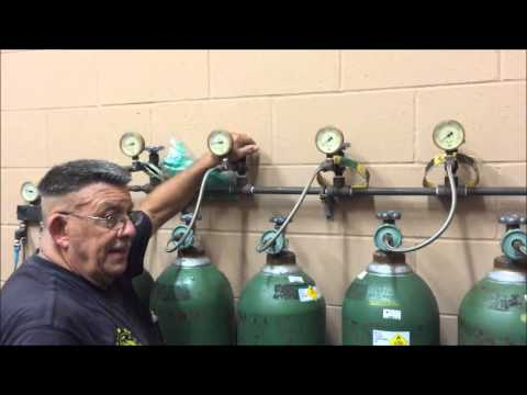 Introduction to filling O2 Cylinders